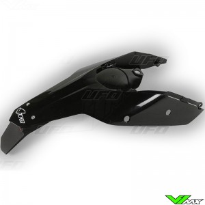 UFO Rear Fender / Side Number Plate Black - KTM
