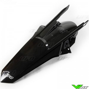 UFO Achterspatbord Zwart - KTM 250EXC 300EXC 450EXC 500EXC 250EXC-F 350EXC-F