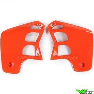 UFO Radiator Shrouds Orange - Honda CR125 CR250
