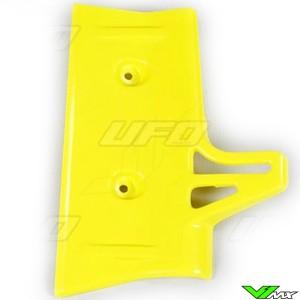 UFO Radiator Shrouds Yellow - Suzuki RM60