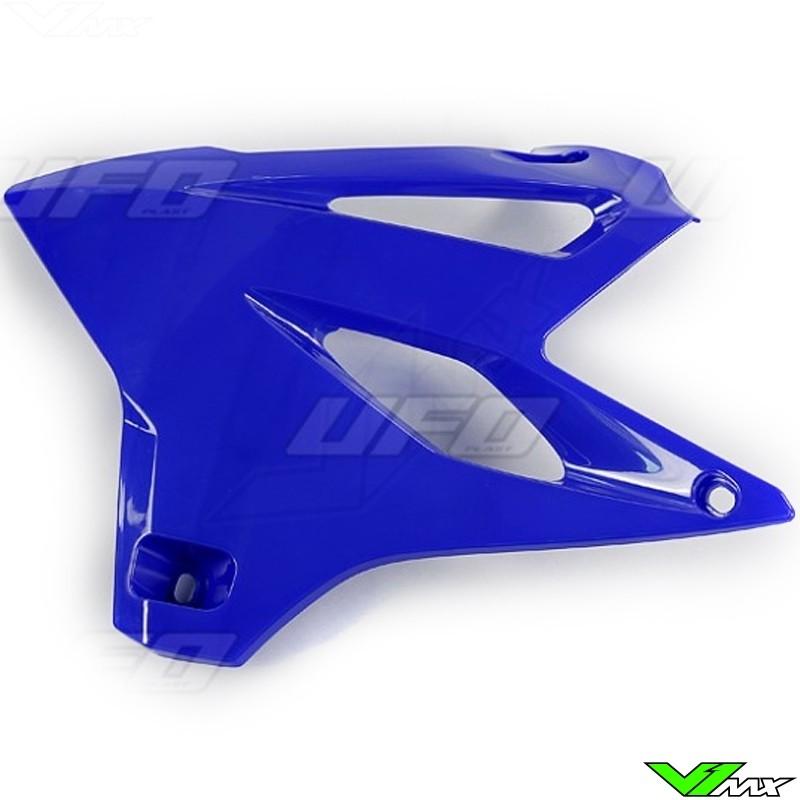 UFO Radiator Shrouds Blue - Yamaha YZ85