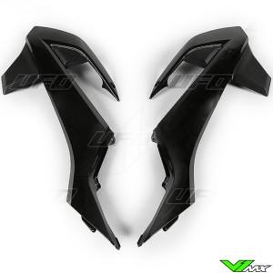 UFO Radiator Shrouds Black - KTM 65SX