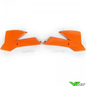 UFO Radiator Shrouds Orange - KTM 65SX