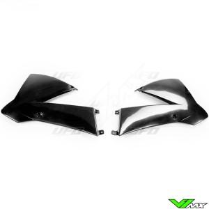 UFO Radiator Shrouds Black - KTM 85SX