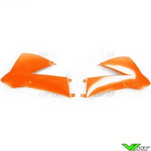 UFO Radiator Shrouds Orange - KTM 85SX