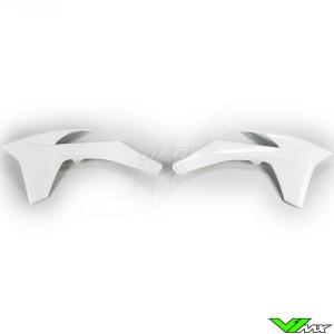 UFO Radiator Shrouds White - KTM