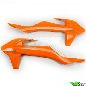 UFO Radiator Shrouds Orange - KTM
