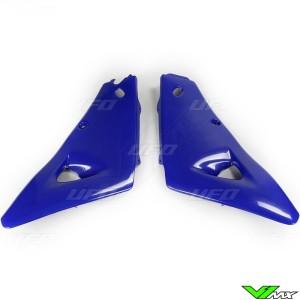 UFO Radiator Shrouds Blue - Husqvarna CR125 CR125 CR250 CR250 WR125 WR250