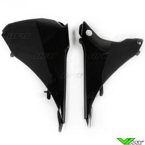 UFO Airbox Cover Black - KTM 125EXC 200EXC 250EXC 300EXC 450EXC 500EXC 250EXC-F 350EXC-F