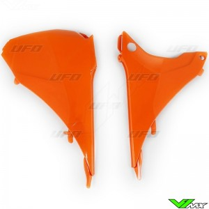 UFO Luchtfilterbakdeksel Oranje - KTM 125EXC 200EXC 250EXC 300EXC 450EXC 500EXC 250EXC-F 350EXC-F