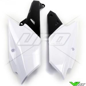 UFO Zijnummerplaten Wit - Yamaha YZF250 YZF450 WR250F WR450F