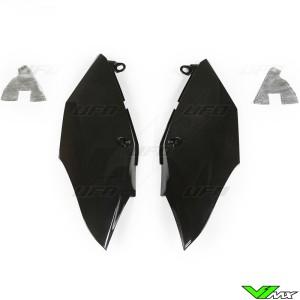 UFO Zijnummerplaten Zwart - Honda CRF250R CRF450R CRF450RX