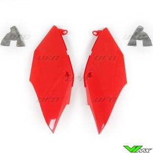 UFO Zijnummerplaten Rood - Honda CRF250R CRF450R CRF250RX CRF450RX