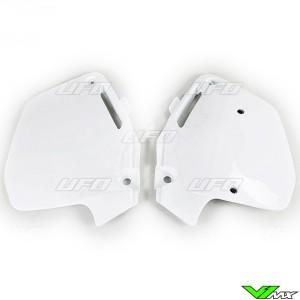 UFO Zijnummerplaten Wit - Honda CR125 CR250 CR500