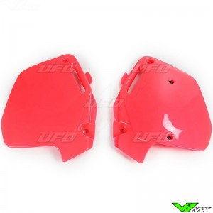 UFO Side Number Plate Red - Honda CR125 CR250 CR500