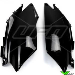 UFO Zijnummerplaten Zwart - Honda CRF250R CRF450R