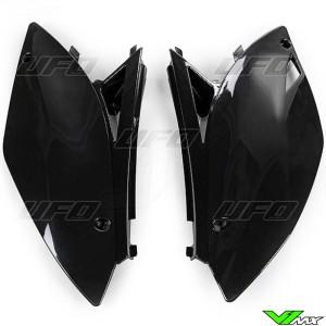 UFO Zijnummerplaten Zwart - Kawasaki KXF450