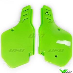 UFO Zijnummerplaten Groen - Kawasaki KX125 KX250 KX500 KDX200
