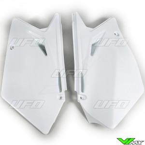 UFO Zijnummerplaten Wit - Suzuki RMZ450