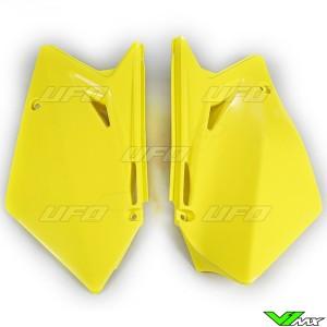 UFO Zijnummerplaten Geel - Suzuki RMZ450