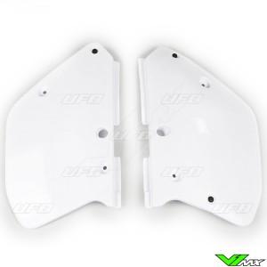 UFO Zijnummerplaten Wit - Yamaha YZ125 YZ250