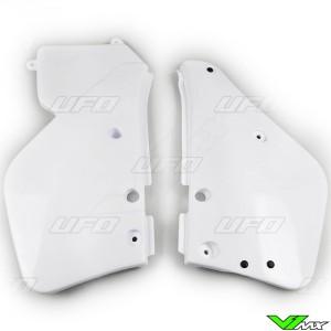 UFO Zijnummerplaten Wit - Yamaha YZ125