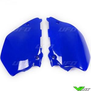 UFO Side Number Plate Blue - Yamaha YZ125 YZ250