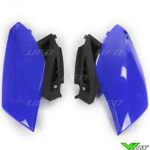 UFO Side Number Plate Blue - Yamaha YZF250