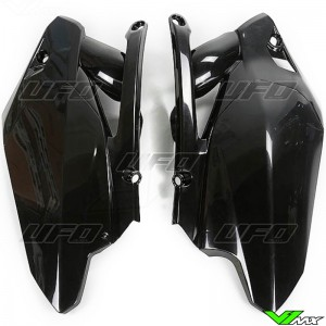 UFO Side Number Plate Black - Yamaha YZF450