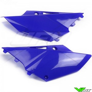 UFO Side Number Plate Blue - Yamaha YZ125 YZ250