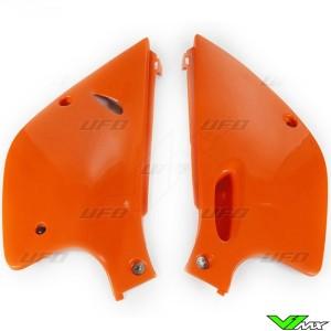 UFO Side Number Plate Orange - KTM 380SX 620SX 380EXC