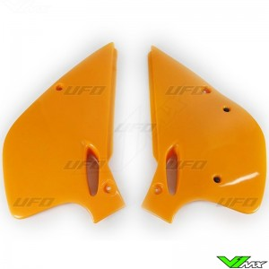 UFO Side Number Plate Orange - KTM 250SX 360SX 250EXC 300EXC 360EXC
