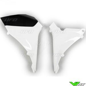 UFO Luchtfilterbakdeksel Wit - KTM 125SX 250SX 250SX-F 350SX-F 450SX-F
