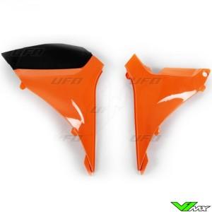 UFO Luchtfilterbakdeksel Oranje - KTM 125SX 250SX 250SX-F 350SX-F 450SX-F