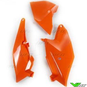 UFO Side Number Plate Orange - KTM 85SX