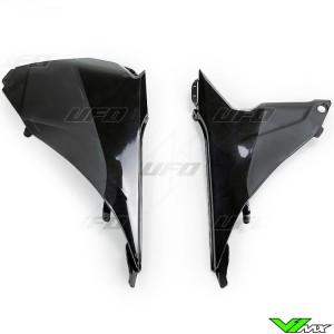 UFO Airbox Cover Black - KTM 125SX 250SX 250SX-F 350SX-F 450SX-F