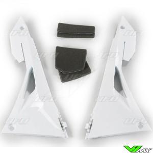 UFO Luchtfilterbakdeksel Wit - Honda CRF250R CRF450R CRF250RX CRF450RX