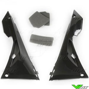 UFO Airbox Cover Black - Honda CRF250R CRF450R CRF250RX CRF450RX