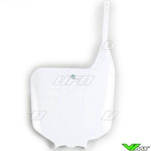 UFO Voornummerplaat Wit - Honda CR125 CR250 CR500