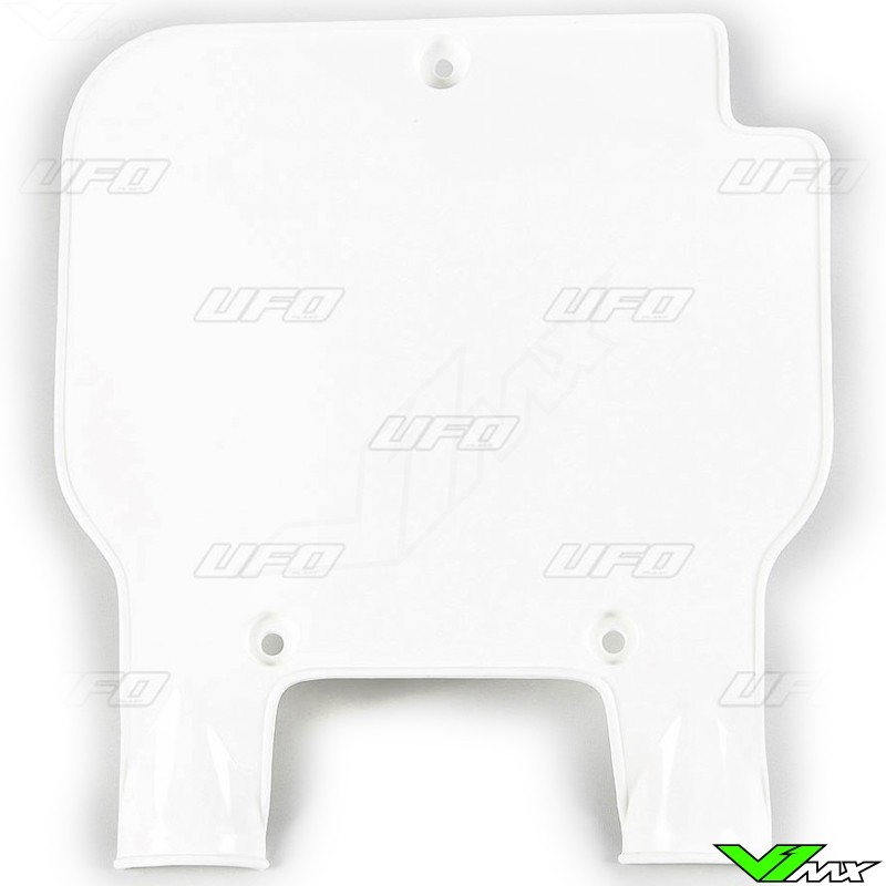 UFO KAWASAKI Front Number Plate KXF 250 2013-2016 KXF 450 2012-2015 Noir