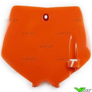 UFO Voornummerplaat Oranje - KTM 65SX