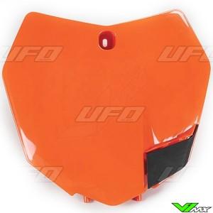 UFO Front Number Plate Orange - KTM 125SX 150SX 250SX 250SX-F 350SX-F 450SX-F