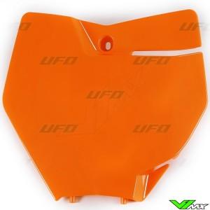 UFO Voornummerplaat Oranje - KTM 125SX 150SX 250SX 250SX-F 350SX-F 450SX-F