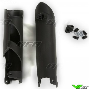 UFO Lower Fork Guards Black - KTM