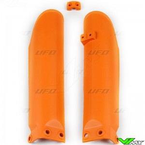 UFO Lower Fork Guards Orange - KTM 85SX