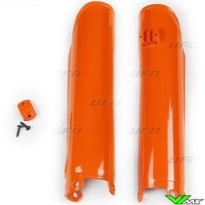 UFO Lower Fork Guards Orange - KTM