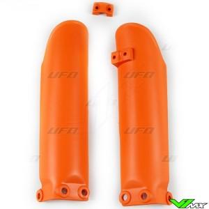 UFO Lower Fork Guards Orange - KTM 65SX