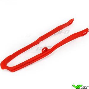 UFO Swingarm Chain Slider Red - Honda CRF250R CRF450R CRF250RX CRF450RX