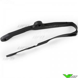 UFO Swingarm Chain Slider Black - Kawasaki KXF250 KXF450