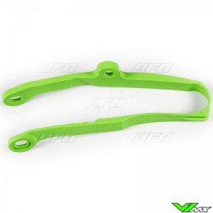 UFO Swingarm Chain Slider Green - Kawasaki KXF250 KXF450